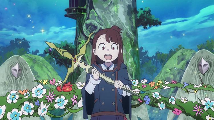 Atsuko Kagari from Little Witch Academia