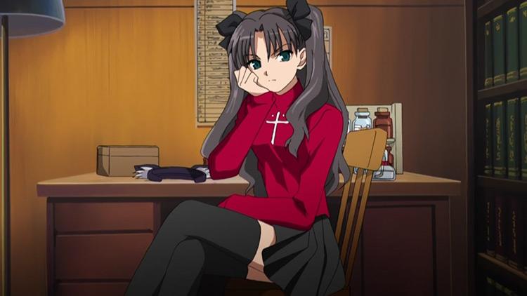 Rin Tohsaka from Fate/stay night anime