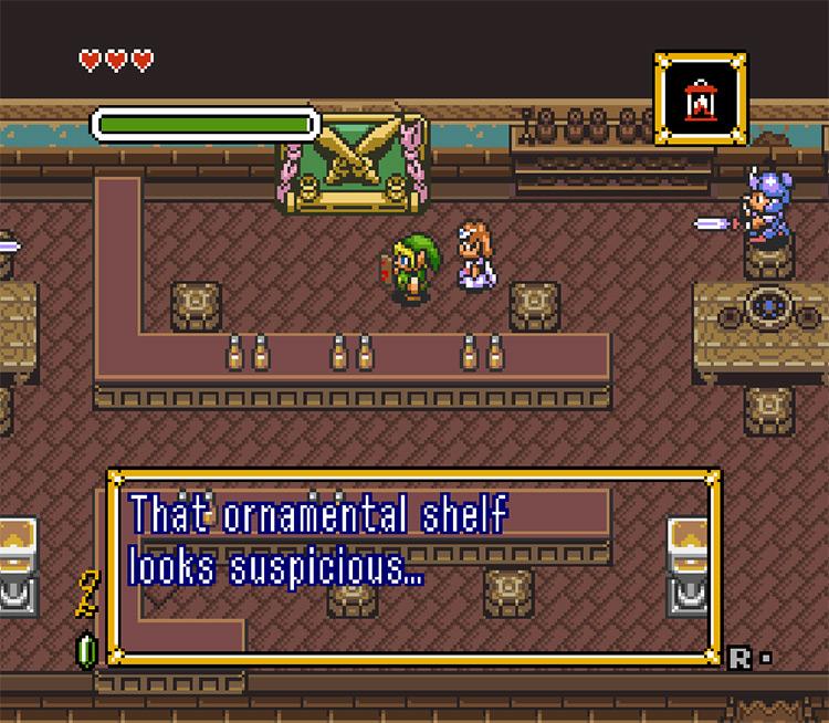 The Legend of Zelda: Parallel Worlds Gameplay