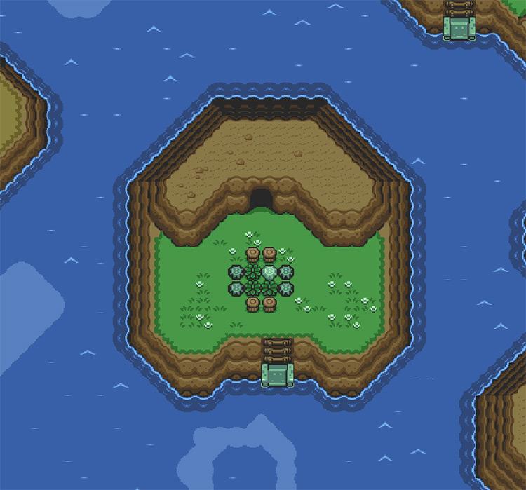 Zelda III: Hyrule Explorer Gameplay