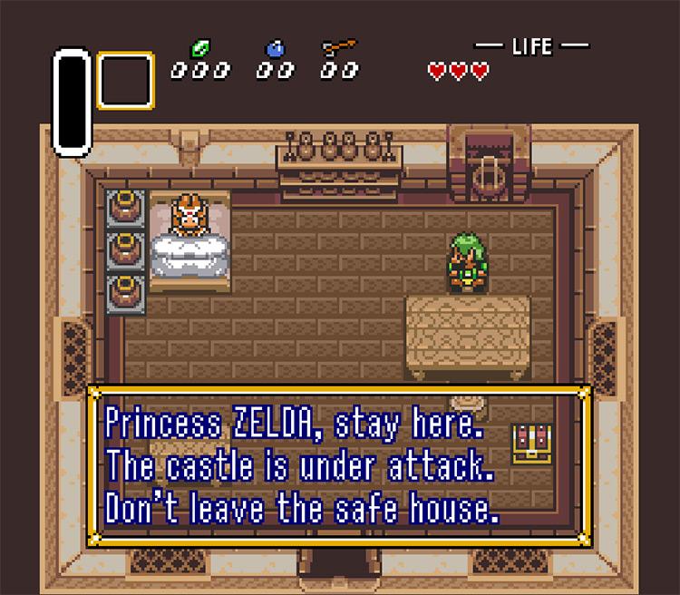 Zelda Starring Zelda 2 Game screenshot