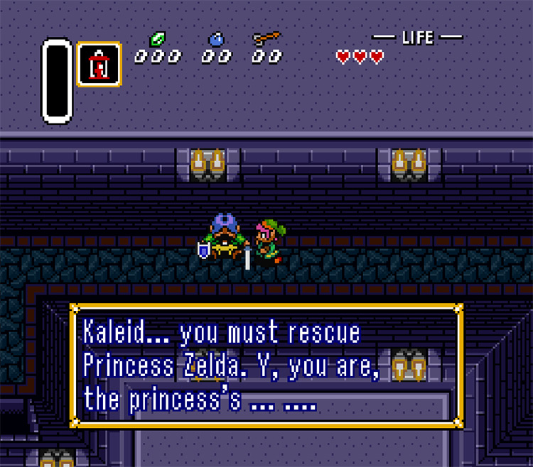 A Link to the Past Translation Improvement Game