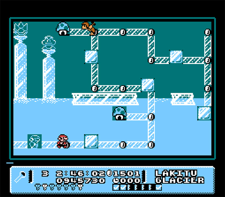 Mario Adventure Game screenshot