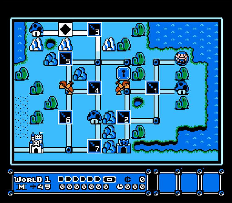 Blue Mario Bros. 3 Gameplay