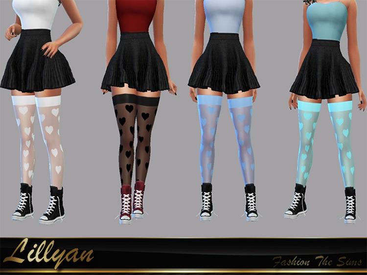 Mary Love Socks by LYLLYAN TS4 CC