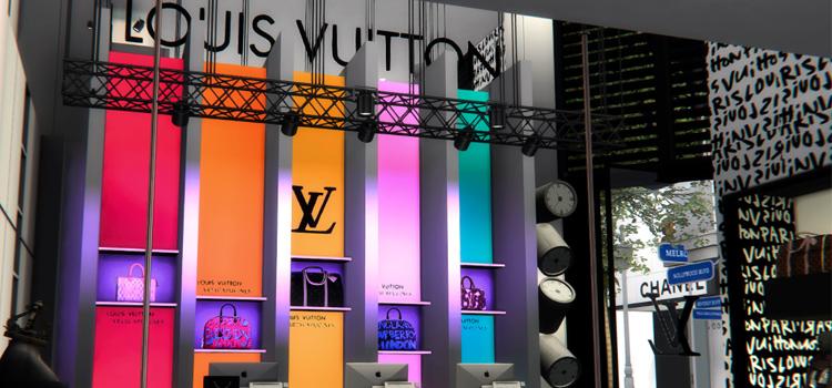 Louis Vuitton Store - Sims 4 CC