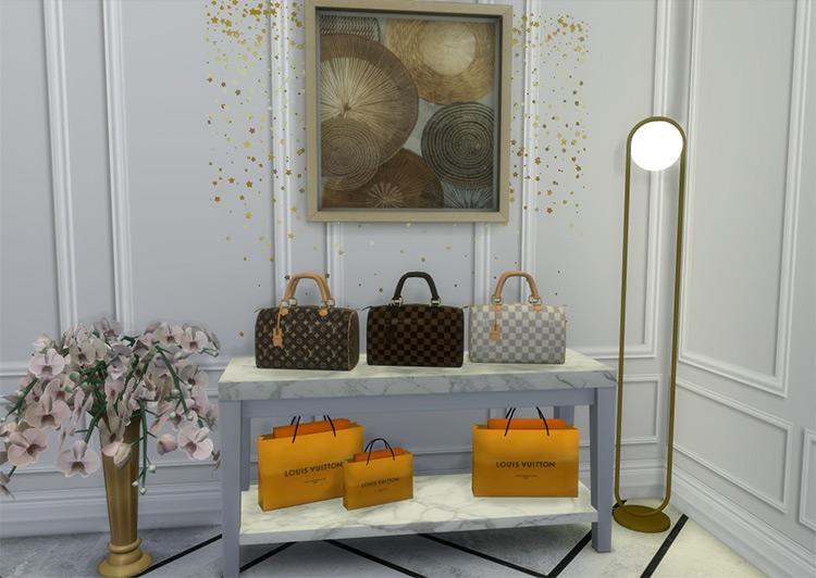 Louis Vuitton Classic Speedy Sims 4 CC