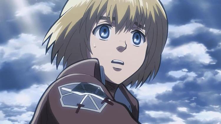 Armin Arlert Attack on Titan anime screenshot