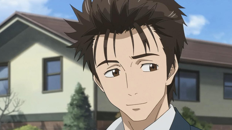 Shinichi Izumi from Parasyte -the maxim- anime