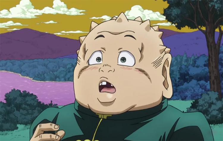 Shigekiyo Yangu from JoJo's Bizarre Adventure – Diamond is Unbreakable