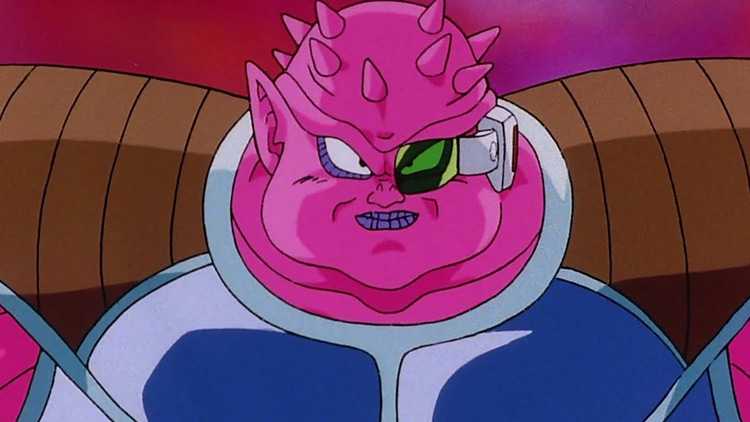 Dodoria from Dragon Ball Z anime