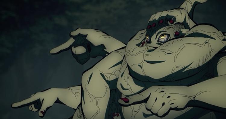 Hand Demon from Demon Slayer anime