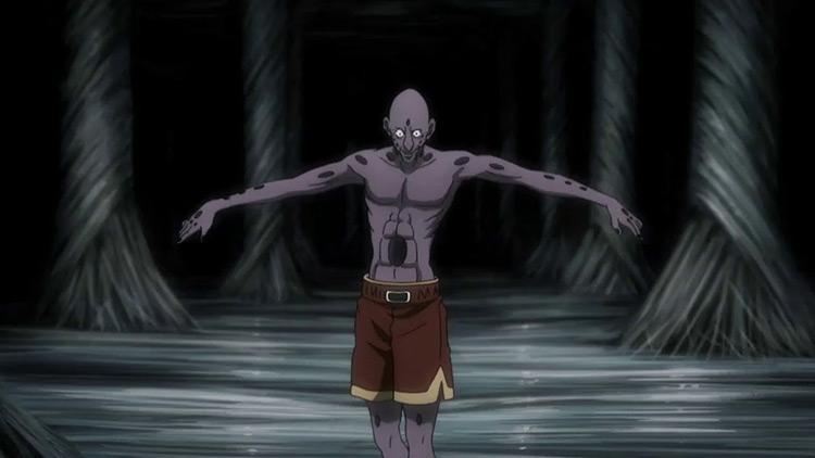Bonolenov Ndongo from Hunter x Hunter anime