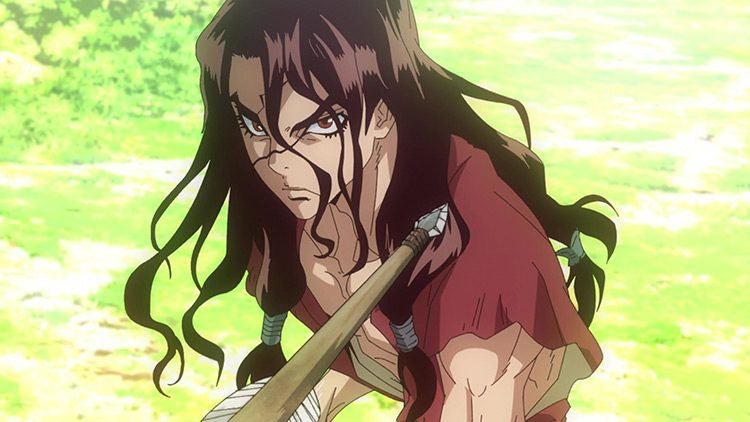Tsukasa Shishio in Dr. Stone anime