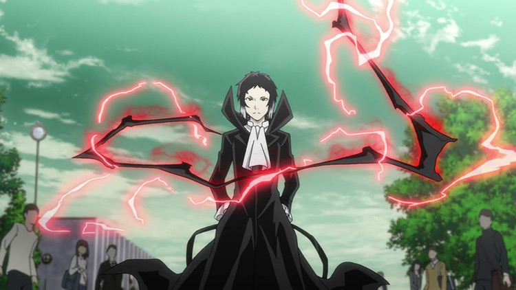 Ryunosuke Akutagawa Bungo Stray Dogs anime screenshot