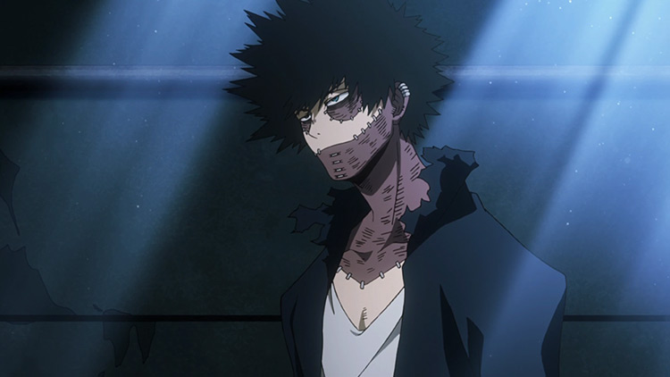 Dabi in My Hero Academia anime