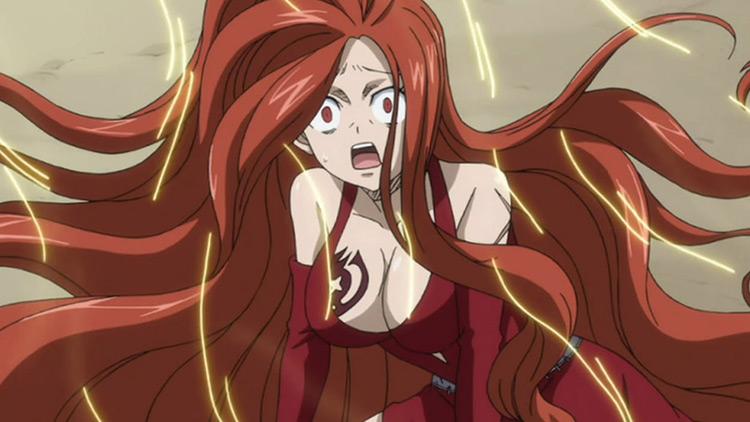 Flare Corona in Fairy Tail anime