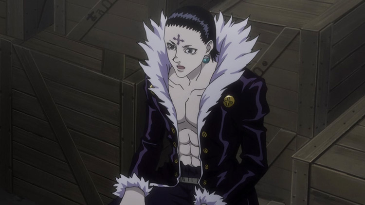 Chrollo Lucilfer from Hunter x Hunter anime