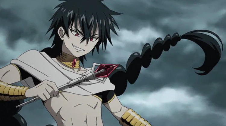 Judar in Magi: The Labyrinth of Magic anime
