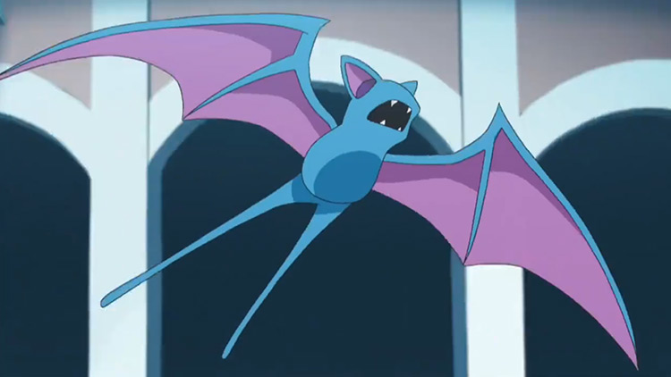 Zubat Pokémon anime screenshot
