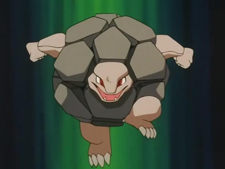 Golem in Pokémon anime