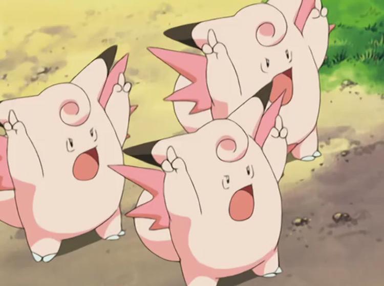 Clefable Pokémon anime screenshot