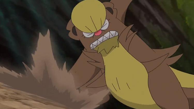 Gumshoos in Pokémon anime