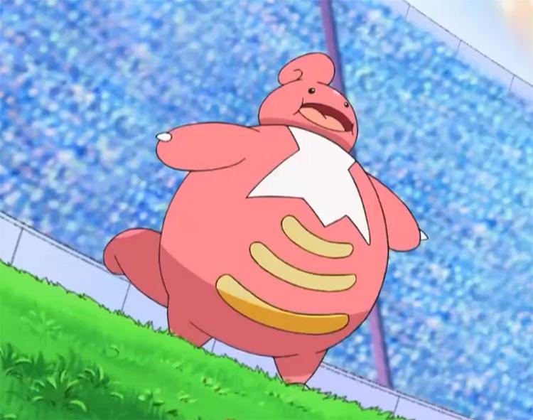 Lickilicky Pokémon anime screenshot