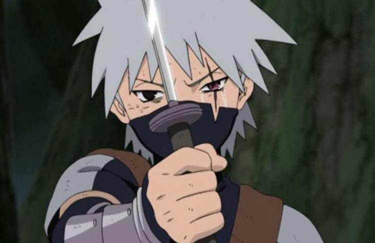 Kakashi Hatake in Naruto: Shippuden anime