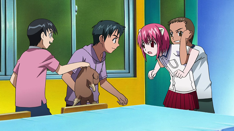 Lucy in Elfen Lied anime