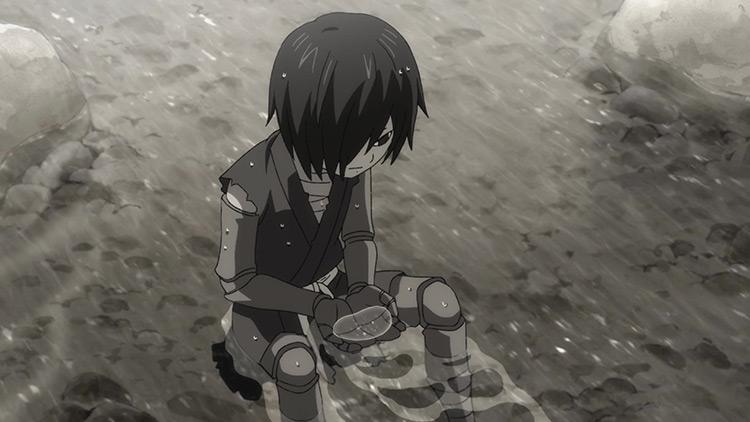 Hyakkimaru in Dororo anime