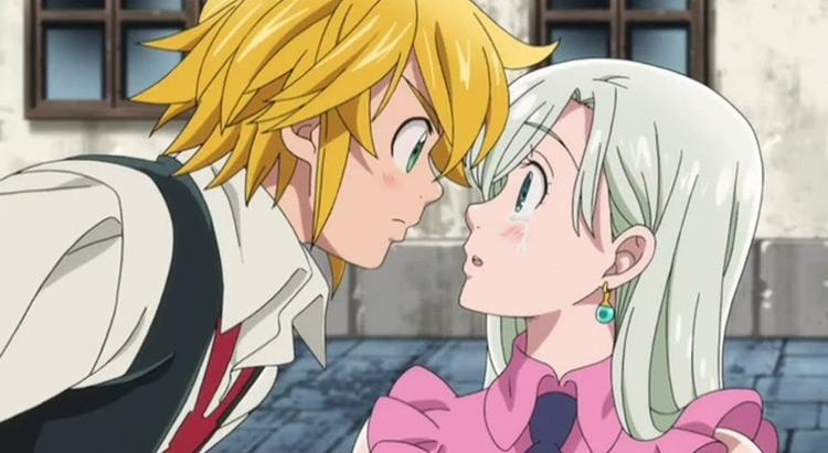 Meliodas The Seven Deadly Sins anime screenshot