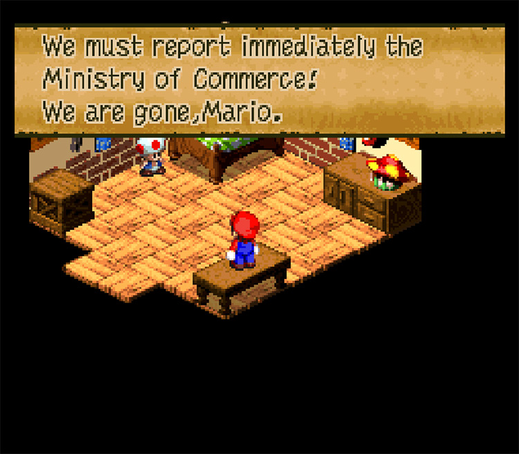 Super Mario RPG Translated by Google Game