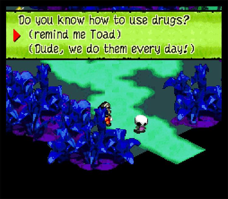 Mario is a Drug Addict Game
