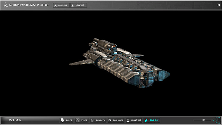 Void Vanguard Ships mod for Astrox Imperium