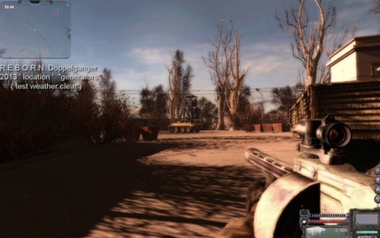 R.E.B.O.R.N. Another Way S.T.A.L.K.E.R.: Clear Sky mod
