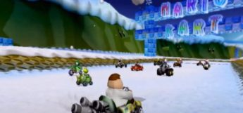 Peter Griffin mod for Mario Kart Wii