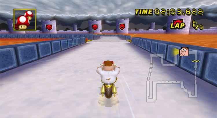 Peter Griffin Mario Kart Wii mod