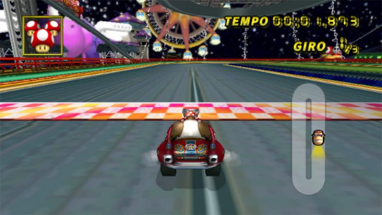 GCDS Pinball Park Mario Kart Wii mod