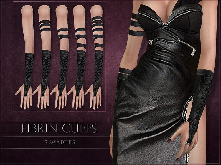 Fibrin Cuffs by RemusSirion Sims 4 CC