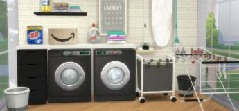 Sims 4: Best Laundry CC, Mods & Clutter Packs