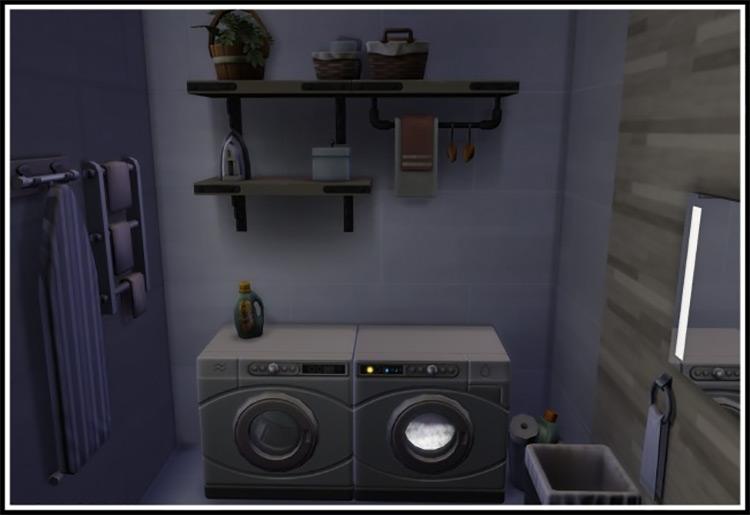 Small Laundry Overhaul by LittleMsSam TS4 CC