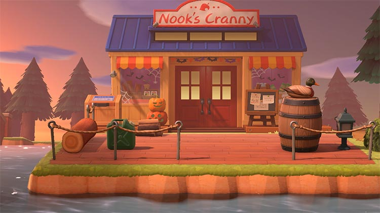 Lake Design for Nook's Cranny