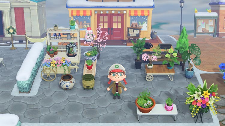 ACNH Garden Center for Nook's Cranny