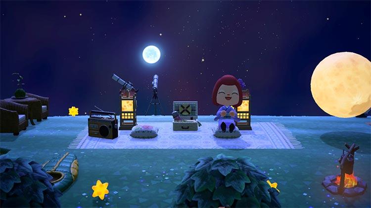 Stargazing Area in Animal Crossing New Horizons