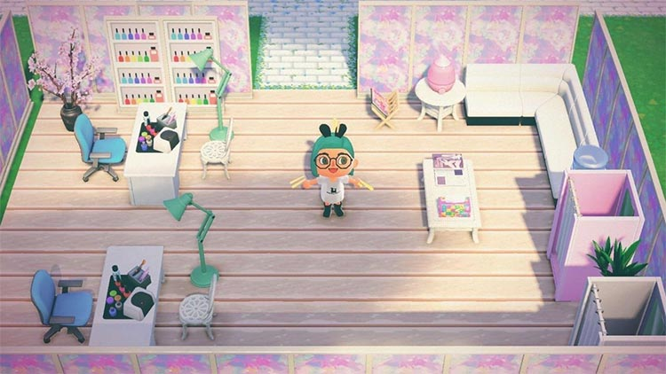 Salon Design - Animal Crossing New Horizons