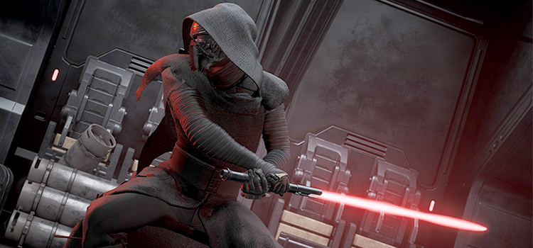 Kylo Ren Modded Into Jedi: Fallen Order