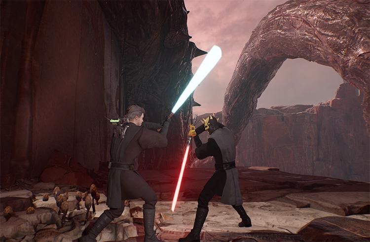 Empire Strikes Harder mod for Fallen Order