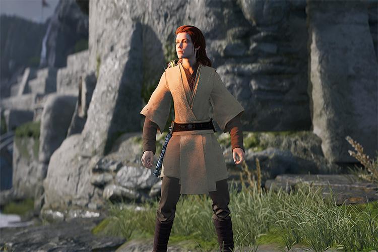 Female Jedi Fallen Order