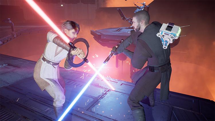 Jedi Knight Cal Mod for Fallen Order